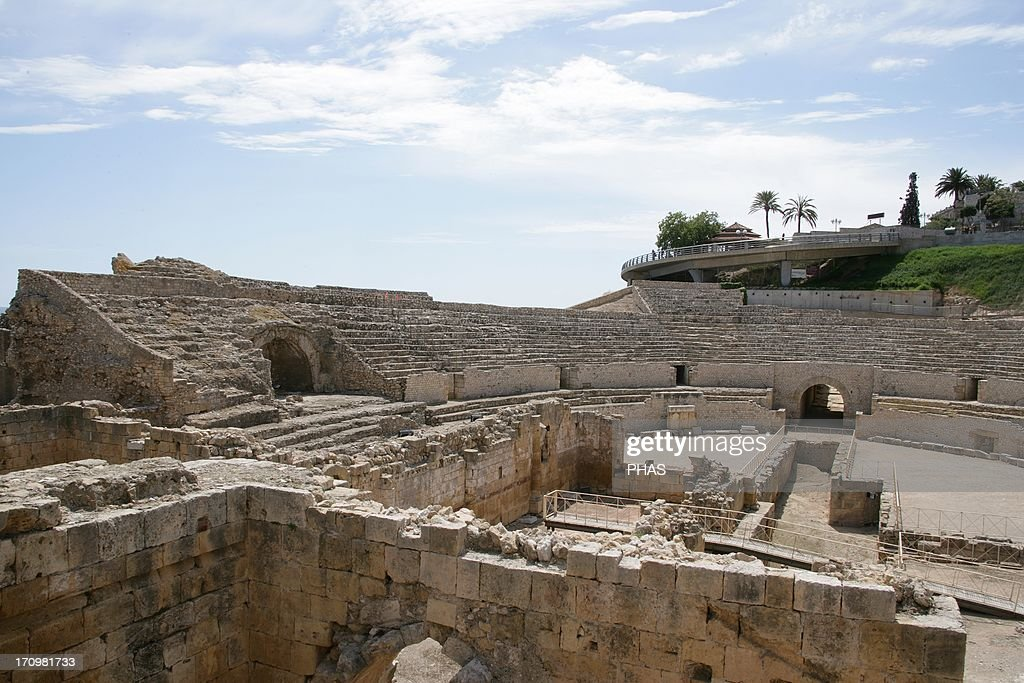 Roman Art Spain Tarragona Amphitheatre It was built in the 2nd century AD Catalonia World Heritage
