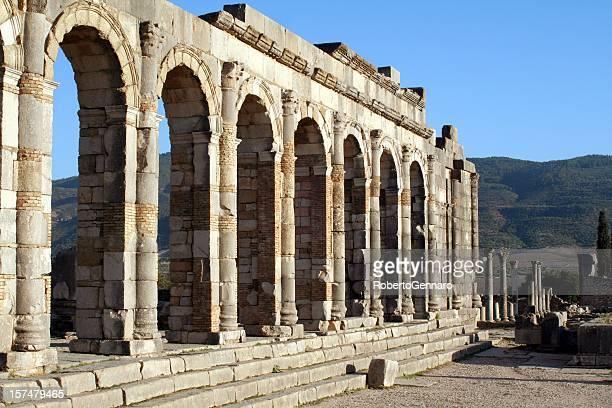 Roman basilica at Volubilis
