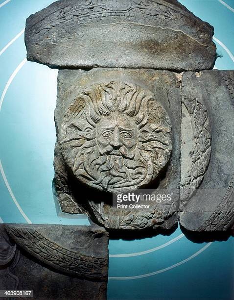 Roman carving of the Ancient British goddess Sul at Bath England Sul or Sulis was the goddess of healing waters and had a shrine at the thermal...