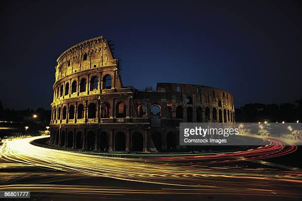 Roman Coliseum , Rome , Italy
