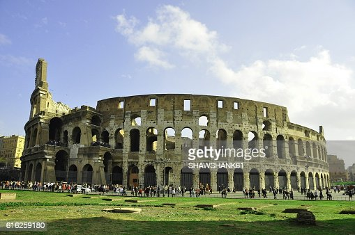 Roman Colosseum : Foto de stock
