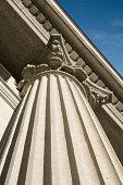 Roman Column on Wall Street