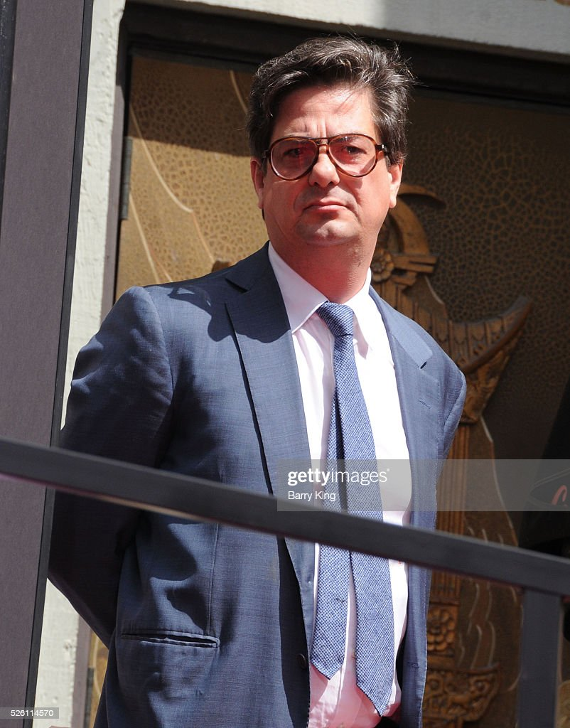 <a gi-track='captionPersonalityLinkClicked' href=/galleries/search?phrase=Roman+Coppola&family=editorial&specificpeople=615097 ng-click='$event.stopPropagation()'>Roman Coppola</a> attends Francis Ford Coppola Hand and Footprint Ceremony at TCL Chinese Theatre IMAX on April 29, 2016 in Hollywood, California.