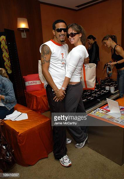 Roman Diaz and Eliza Dushku during The Lucky/Cargo Club An Upfront Week Hospitality Suite Day 3 at Le Parker Meridien in New York City New York...