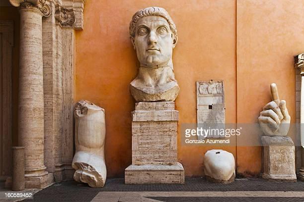 Roman Emperor Constantine the Great.