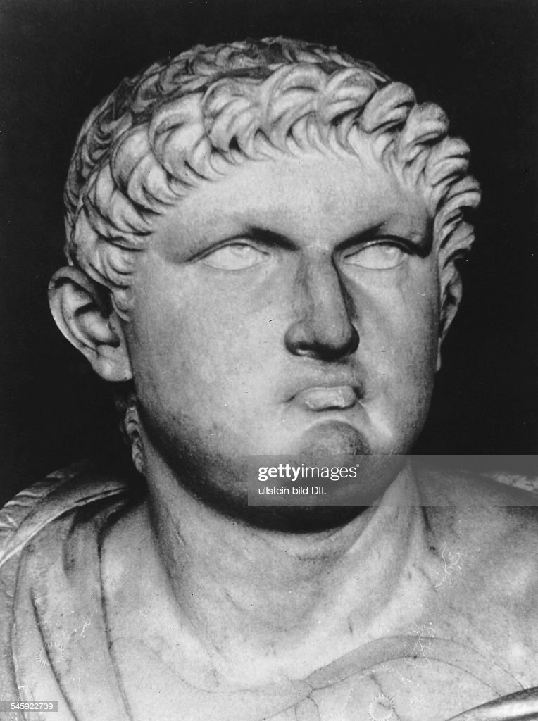 Roman Empire <a gi-track='captionPersonalityLinkClicked' href=/galleries/search?phrase=Nero+-+Roman+Emperor&family=editorial&specificpeople=3795041 ng-click='$event.stopPropagation()'>Nero</a> <a gi-track='captionPersonalityLinkClicked' href=/galleries/search?phrase=Nero+-+Roman+Emperor&family=editorial&specificpeople=3795041 ng-click='$event.stopPropagation()'>Nero</a> 37 A.D - 68 A.D <a gi-track='captionPersonalityLinkClicked' href=/galleries/search?phrase=Nero+-+Roman+Emperor&family=editorial&specificpeople=3795041 ng-click='$event.stopPropagation()'>Nero</a>, Claudius Drusus Germanicus Roman Emperor 54-68 ancient bust - 1st century