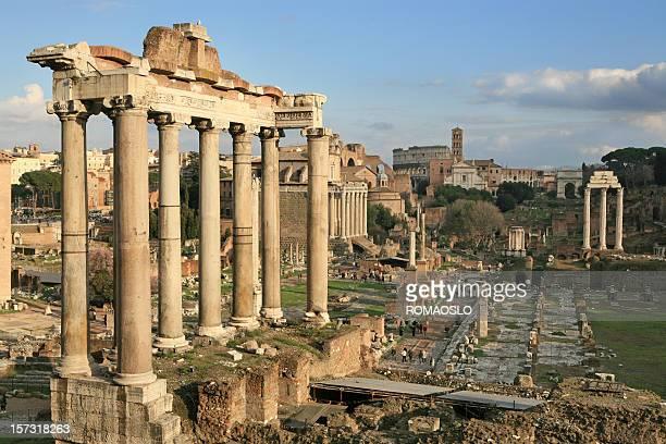 Roman Forum in Rome, Italy