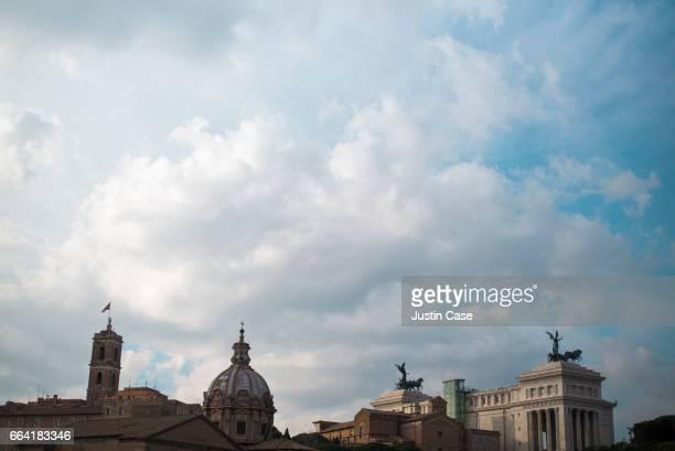 Roman Forum skyline