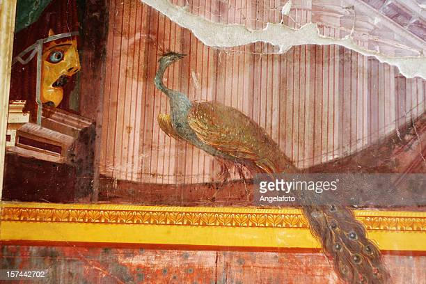 Roman fresco from Poppea's villa in Oplontis