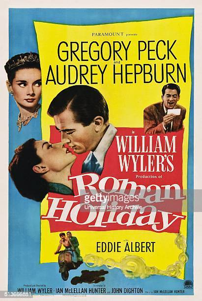 Roman Holiday is a 1953 romantic comedy directed and produced by William Wyler It stars Gregory Peck as a reporter and Audrey Hepburn as a royal...