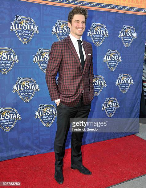 Roman Josi of the Nashville Predators arrives for the 2016 NHL AllStar Game Festivities at Bridgestone Arena on January 30 2016 in Nashville Tennessee