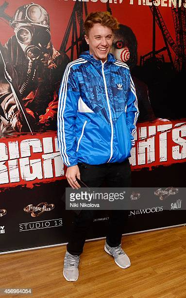 Roman Kemp attends Friday Night VIP Event held in at Thorpe Park on October 9 2014 in Chertsey England