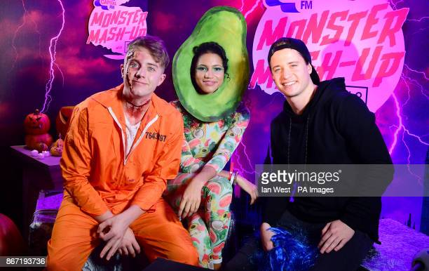 Roman Kemp Vick Hope and Kygo attending Capital's Monster MashUp with VOXI by Vodafone took place at London's Eventim Apollo tonight Capital's...