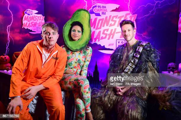 Roman Kemp Vick Hope and Sigala attending Capital's Monster MashUp with VOXI by Vodafone took place at London's Eventim Apollo tonight Capital's...