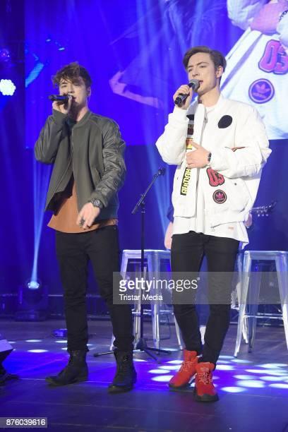 Roman Lochmann and Heiko Lochmann of the duo Die Lochis perform the Stylorama on November 18 2017 in Dortmund Germany