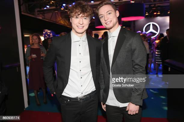 Roman Lochmann and his twin brother Heiko Lochmann die Lochis during the 'Tribute To Bambi' gala at Station on October 5 2017 in Berlin Germany
