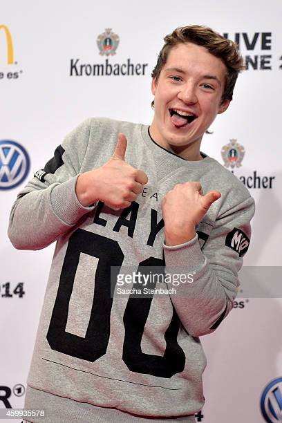 Roman Lochmann attends the 1Live Krone 2014 at Jahrhunderthalle on December 4 2014 in Bochum Germany