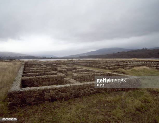 Roman military camp of Aquis Querquennis Occupied between the last quarter of the 1st century until the middle of 2nd century Ruins along the Roman...