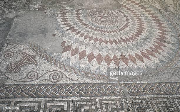 Roman mosaic House of the Amphitheater 3rd century Merida Spain