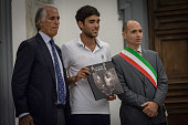 Roman Olympic athlete with Giovanni Malago and the deputy mayor of Rome Daniele Frongia during the meeting with athletes to participate in the Rio...