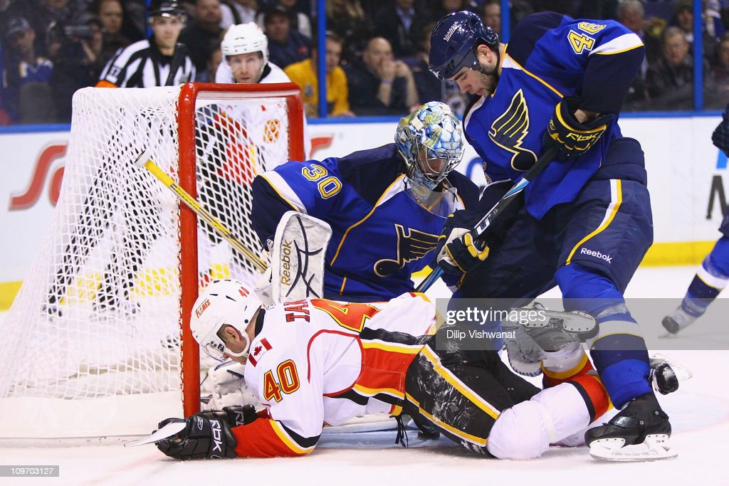 Calgary Flames v St. Louis Blues