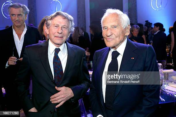 Roman Polanski and Laureat 2013 Jean d'Ormesson attend 'Scopus Awards 2013' Taste of Knowledge at Espace Cambon Capucines on April 10 2013 in Paris...