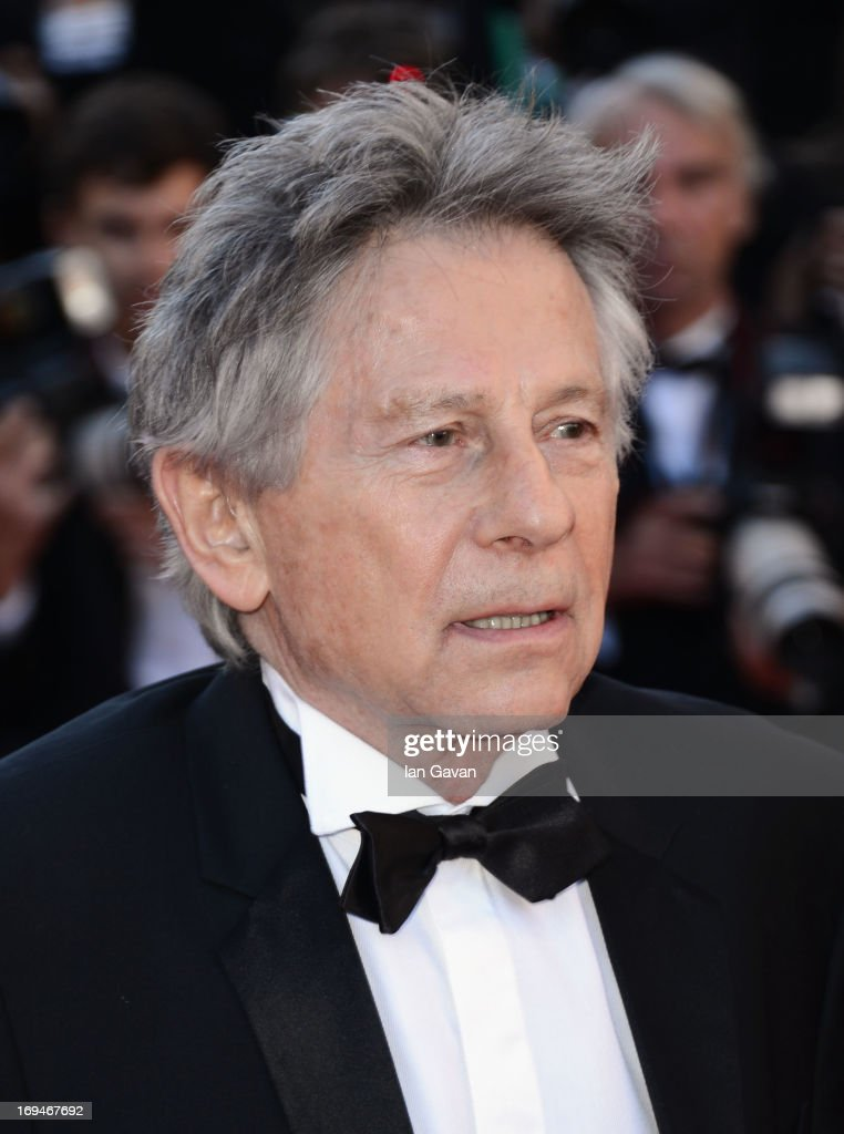 <a gi-track='captionPersonalityLinkClicked' href=/galleries/search?phrase=Roman+Polanski&family=editorial&specificpeople=207150 ng-click='$event.stopPropagation()'>Roman Polanski</a> arrives at 'Venus In Fur' Premiere during the 66th Annual Cannes Film Festival at Grand Theatre Lumiere on May 25, 2013 in Cannes, France.