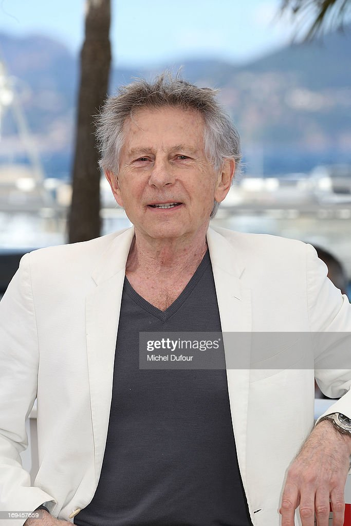 <a gi-track='captionPersonalityLinkClicked' href=/galleries/search?phrase=Roman+Polanski&family=editorial&specificpeople=207150 ng-click='$event.stopPropagation()'>Roman Polanski</a> attends the 'La Venus A La Fourrure' Photocall during the 66th Annual Cannes Film Festival on May 25, 2013 in Cannes, France.