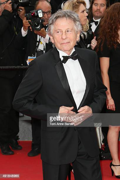 Roman Polanski attends the 'Saint Laurent' premiere at the 67th Annual Cannes Film Festival on May 17 2014 in Cannes France