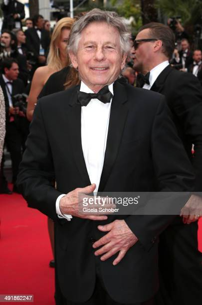 Roman Polanski attends the 'Saint Laurent' premiere during the 67th Annual Cannes Film Festival on May 17 2014 in Cannes France