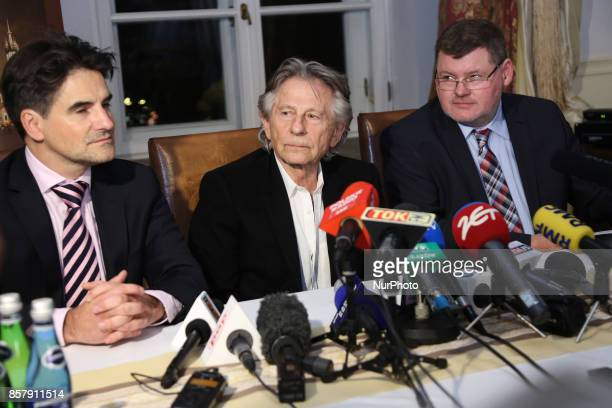 Roman Polanski is being accused of alleged sexual assault by a new woman a former German actress In picture Roman Polanski and his lawyers Jerzy...