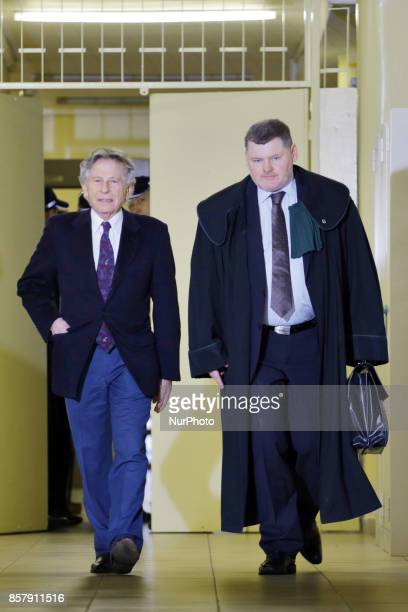 Roman Polanski is being accused of alleged sexual assault by a new woman a former German actress In picture Roman Polanski and one of his lawyers Jan...