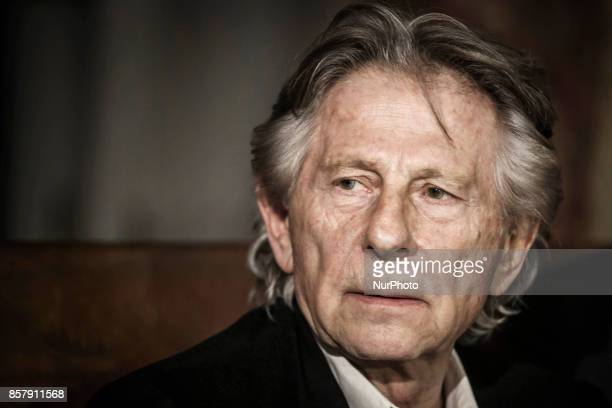 Roman Polanski is being accused of alleged sexual assault by a new woman a former German actress In picture Roman Polanski talks to the media on...