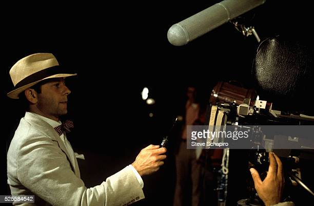 Roman Polanski playing the role of a knifeweilding thug on the set of Chinatown one of the films he directed