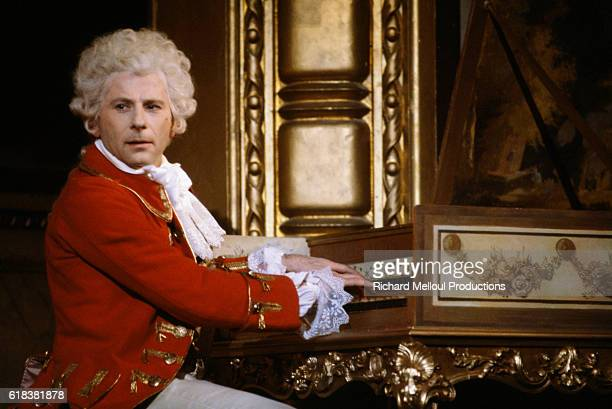 Roman Polanski plays the piano as Mozart in Peter Shaffer's play Amadeus Polanski also directs the play in its 1981 run in Paris The play also stars...