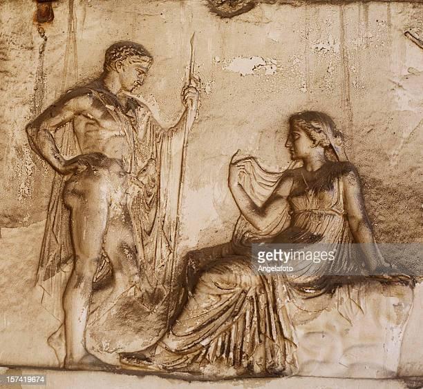 Roman Relief in Herculaneum