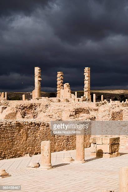 Roman ruins in Sbeitla