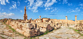 "Sabratha, Sabratah or Siburata, in the Zawiya District in the northwestern corner of modern Libya, was the westernmost of the ""three cities"" of Tripolis. From 2001 to 2007 it was the capital of the fo"