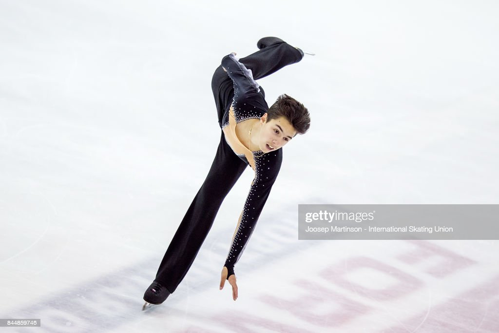 Roman Savosin | Савосин Роман Андреевич - Страница 3 Roman-savosin-of-russia-competes-in-the-junior-men-free-skating-day-picture-id844859746