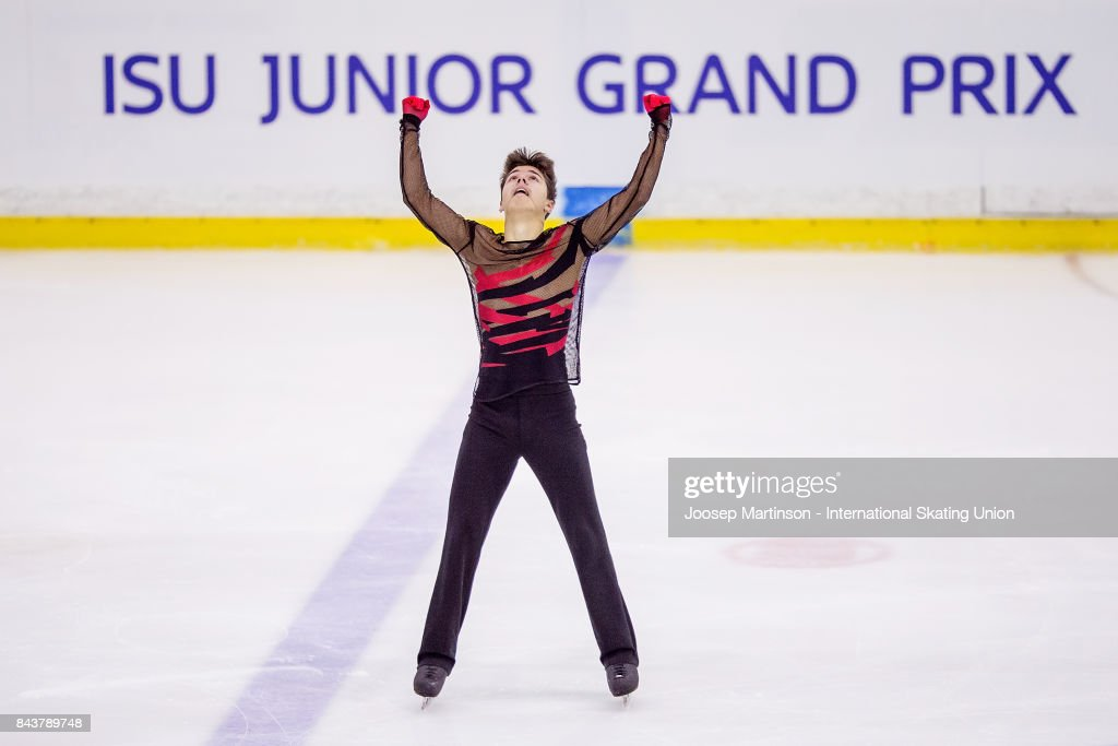 Roman Savosin | Савосин Роман Андреевич - Страница 3 Roman-savosin-of-russia-competes-in-the-junior-men-short-program-day-picture-id843789748