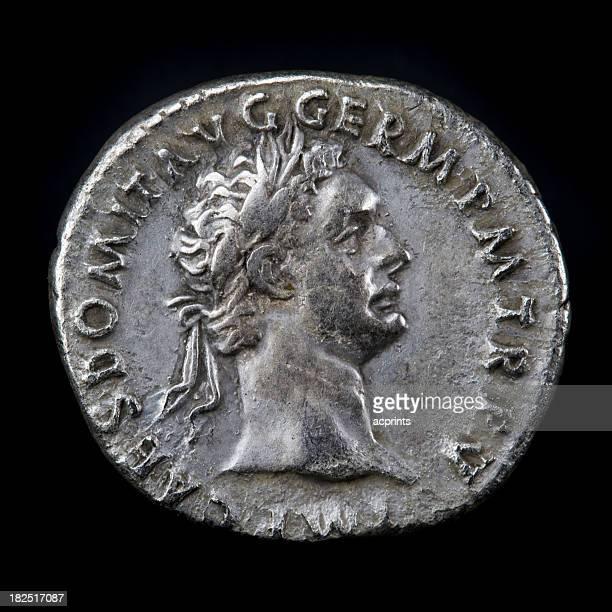 Roman Silbermünze Domitian