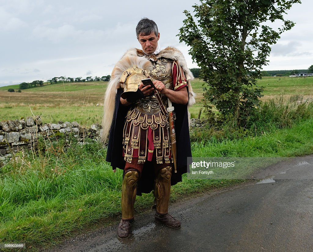 the re enactment of roman times at hadrian u0027s wall photo album