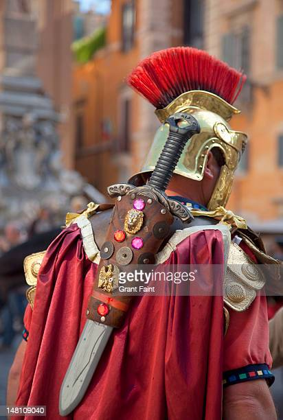 Roman soldier for tourists, Rome