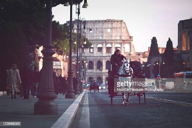 Roman stories at Colosseum, Rome