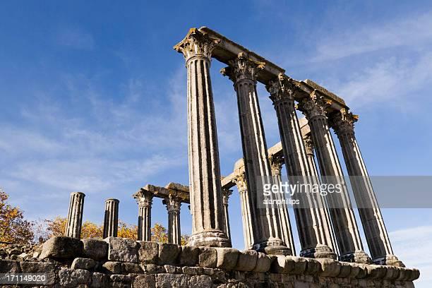 Roman templo de Diana em Évora