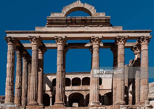 Temple romain de Diane, Mérida, Espagne