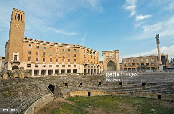 Roman theatre and INA