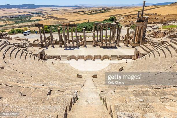 Roman theatre at Dougga