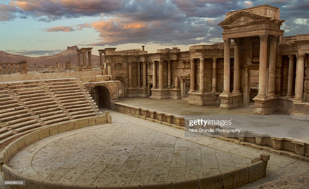 Roman Theatre Of Palmyra, Syria