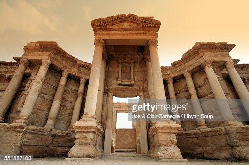Roman Theatre, Palmyra, Syria.
